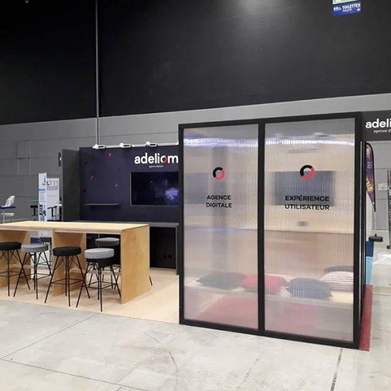 Stand Salon - Adéliom